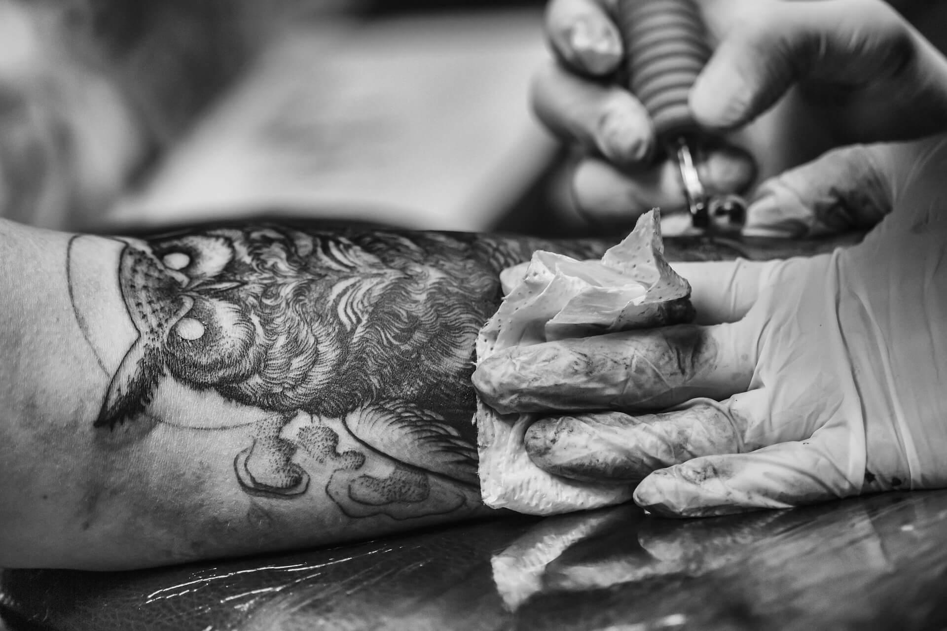 bagoly tetoválás zen tetováló szalon győr