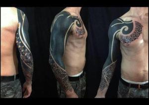 black work tetoválás akrra