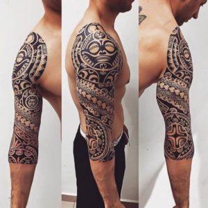 maoui polinéz tetoválás