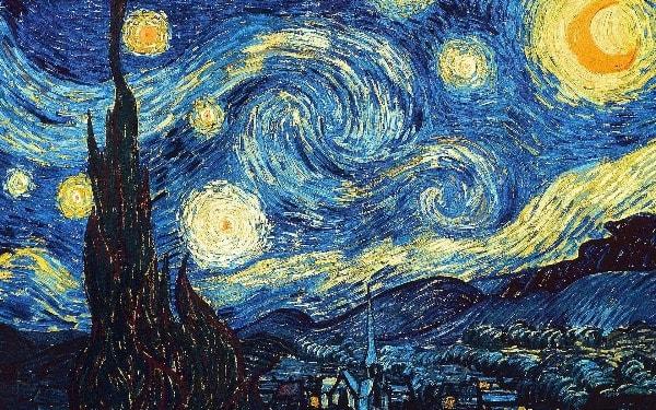 Van Gogh csillagos ég